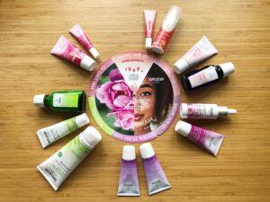 Weleda skincare products